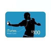 Apple App 100 Dollar iTunes Gift Card