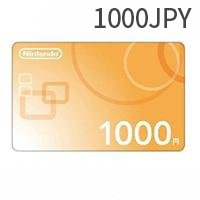 Nintendo eshop daily service 1000 yen Switch recharge card