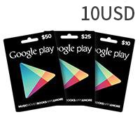 Google Play Gift Card US$10