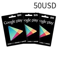 Google Play Gift Card US$50