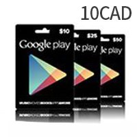Canada Google Play Gift Card $10