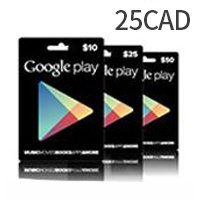 Canada Google Play Gift Card $25
