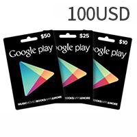 Google Play Gift Card US$100
