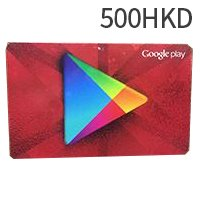 Hong Kong Google Play Gift Card 500 HK Dollars